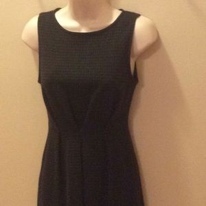 MERONA TWEED, SLEEVELESS FITTED DRESS SIZE XS